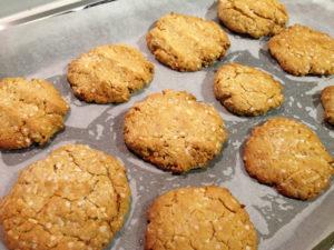 Quinoa Protein Cookies