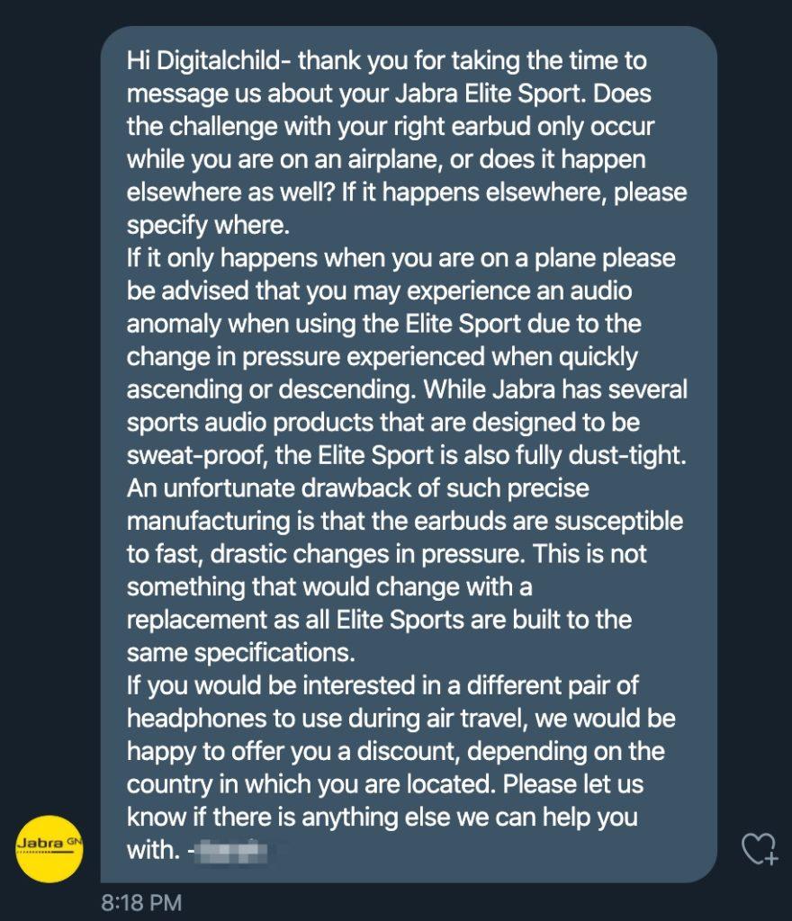 Jabra Elite Problem